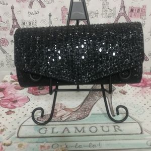 d'margeaux Clutch Evening Bag Black